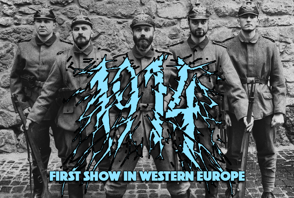 1914 on Pitfest 2019: their first show in Western Europe