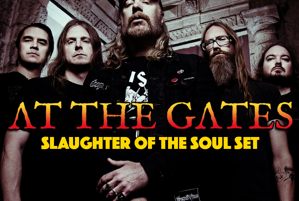 At the Gates plays Slaughter of the Soul on Pitfest 2020!