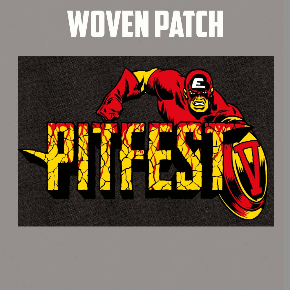 Pitfest Woven Patch