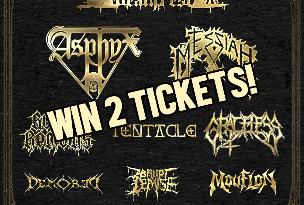 Win 2 tickets for Schoonebeek Deathfest on our FB page