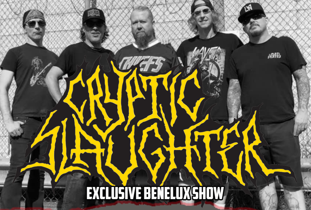 Cryptic Slaughter back from the grave